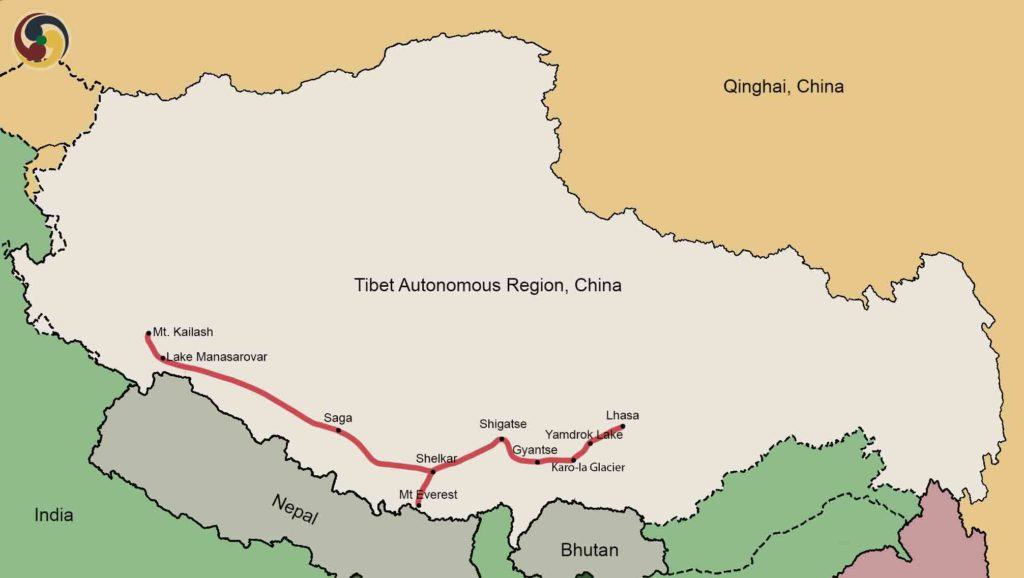 15 Days Lhasa-Everest-Kailash Group Tour