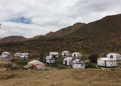 Camping in Tibet