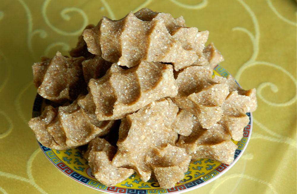 Tsampa or Roasted Barley Flour a Traditional Staple Food of Tibetan