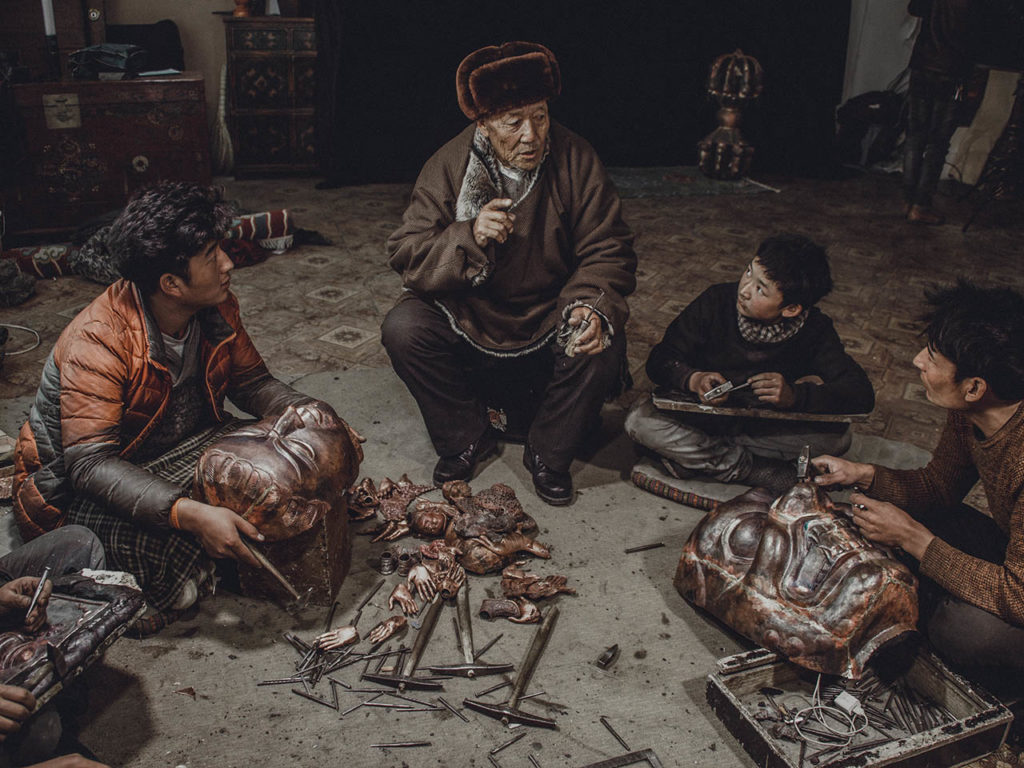 The Art of Tibetan Statue Making