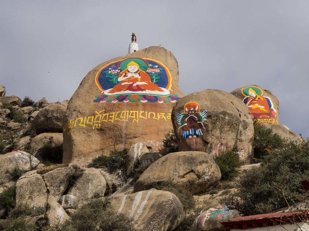 Tibetan Stone and Rock Carvings